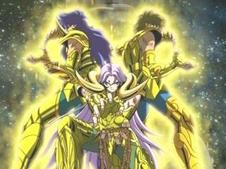 Caballeros de Oro: Libra, Escorpio, Sagitario, Capricornio ...