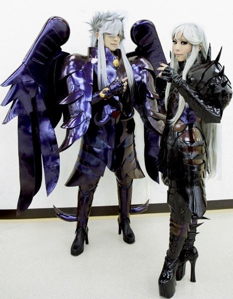 Cosplay de Shiryu y Dohko Cosplay-Minos
