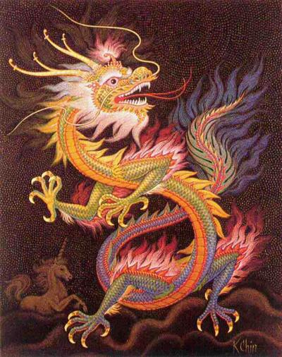 dragons in mythology and folklore