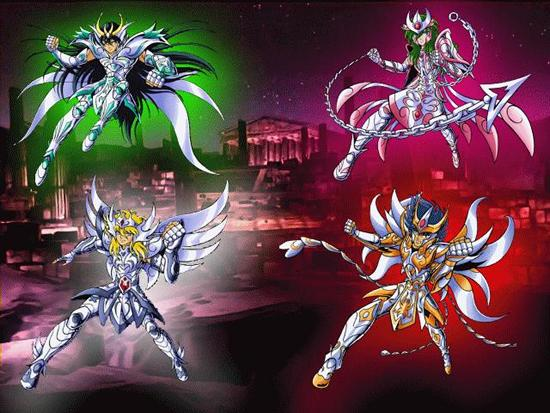 Personajes los Caballeros del zodiaco